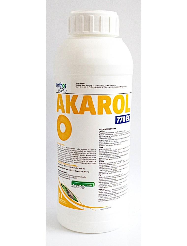 Środek owadobójczy i roztoczobójczy Akarol 770 EC Synthos Agro 1 L