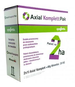 Środek chwastobójczy Axial Komplet Pak na 2ha (2x1L)