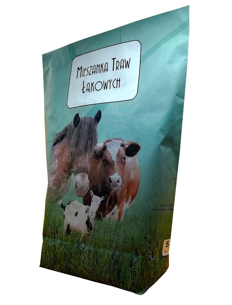 Mieszanka  traw pastewnych - łąkowa ZM3 5KG