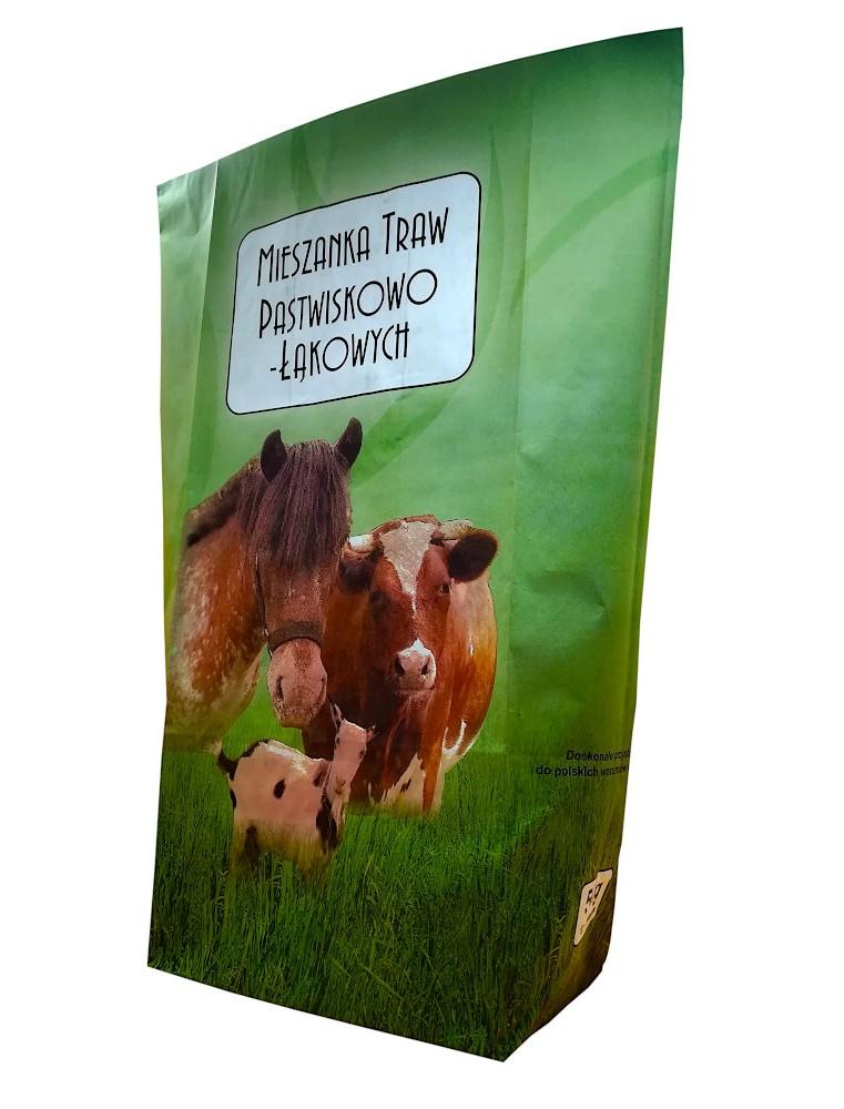 Mieszanka traw pastewnych - pastwiskowo-łąkowa ZM10 (5 kg)